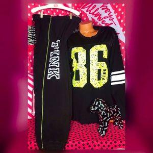 Pink Victorias Secret neon Set New 2019🌸
